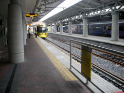 The platforms, taken from by the main platform